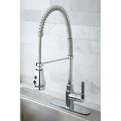 Continental Modern Spiral Pull-down Chrome Kitchen Faucet