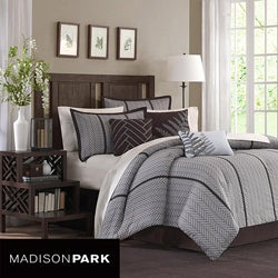 Madison Park Bainbridge 7-piece King/Cal-King Comforter Set