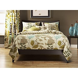 English Garden 6-pc King-size Duvet Cover and Insert Set