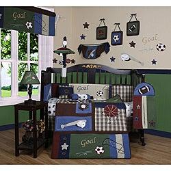 Classic Sports 13-piece Crib Bedding Set