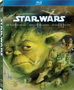 Star Wars: The Prequel Trilogy (Episodes I - III) (Blu-ray Disc)