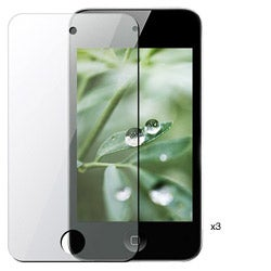 Anti-glare Screen Protector for iPod Touch 4 (Pack of 3)