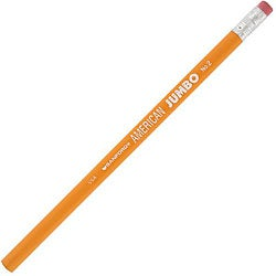 Sanford American Jumbo No. 2 Pencils (Case of 72)
