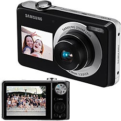 Samsung Dual View PL100 12.2MP Digital Camera (Refurbished)