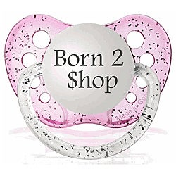 Personalized Pacifiers Pink Born 2 Shop Pacifier