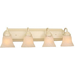 Transitional 4-light Pearl Mist Bath Fixture