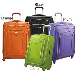 Olympia JF4221 Luxe 21-inch Expandable Carry On Spinner Upright Suitcase