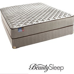 Simmons BeautySleep Fox Hollow Firm Queen-size Mattress Set