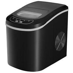 Sunpentown ICE-121B Black Compact Portable Ice Maker