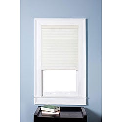 Honeycomb Cell Light-filtering Cream Cordless Cellular Shades (26.5 x 60)