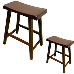 Warehouse of Tiffany Brown Bar Stools (Set of 2)