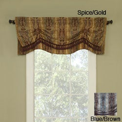 Sonata Jacquard Valance With Tassels