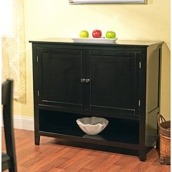 Montego Black Wooden Buffet