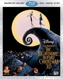 The Nightmare Before Christmas 3D (Blu-ray/DVD)