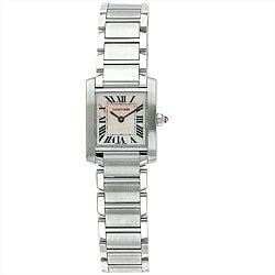 Cartier Women's Tank Francaise Stainless Steel Watch