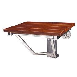DreamLine Natural Teak Wood Folding Shower Seat