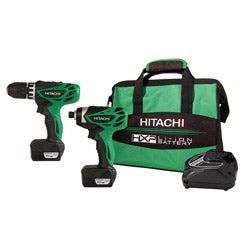 Hitachi Peak 12V 2-tool Lithium-ion Micro Driver Drill Combo Kit (Refurbished)