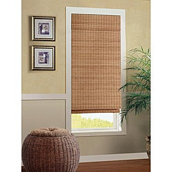 Nantucket Cordless Bamboo Roman Shade (23 in. x 72 in.)