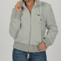CoffeeShop Juniors Seafoam Knit Coat