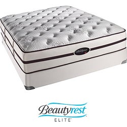 Beautyrest Elite Plato Plush Firm Queen-size Mattress Set