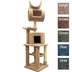 New Cat Condos Cat Playstation - Solid Wood 72&quot; Cat Condo