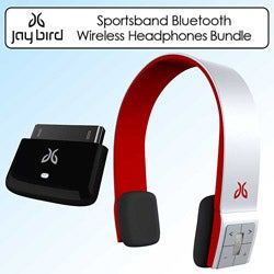 JayBird SB2RR Sportsband Bluetooth Red Wireless Headphones