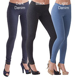 Illusion Women's Cotton Ankle-length Jeggings