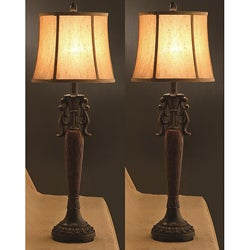 Naples 34-inch Table Lamps (Set of 2)