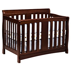 DaVinci Rowan 4-in-1 Crib with Toddler Rail in Cherry