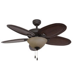 EcoSure Hamilton Bowl Light Bronze 52-inch Ceiling Fan