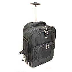 Kemyer Lightweight 17-inch Rolling Carry-on Backpack
