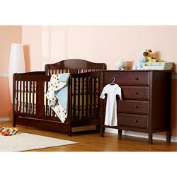 DaVinci Richmond 4-in-1 Crib with Toddler Rail in Espresso