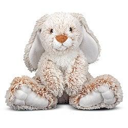 Melissa & Doug Burrow Bunny Stuffed Animal