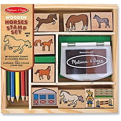 Melissa &amp; Doug Horses Stamp Set
