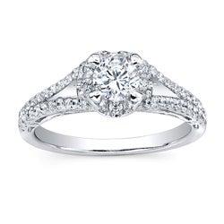 14k White Gold 1ct TDW Diamond Engagement Ring (H-I, I2-I3)
