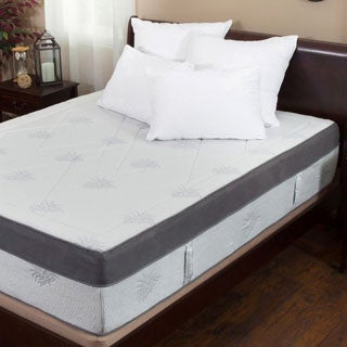 Christopher Knight Home Aloe Gel Infused Memory Foam 15-inch Queen-size Mattress