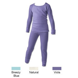 Hanes Girl's 2-piece Thermal Set