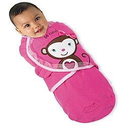 Summer Infant Monkey Love Small SwaddleMe Blanket