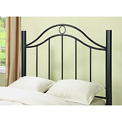 Twin Size Black Headboard/ Footboard