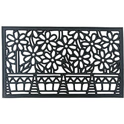 Rubber-Cal 'Bountiful Summer' Rubber Cast Iron Door Mat (18 x 30)