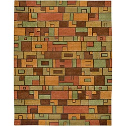 Hand-tufted Hesiod Multi Rug (9' x 12')