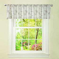 Lush Decor Beige Garden Suite Valance