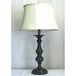 Table Lamp with Antique Bronze Finish