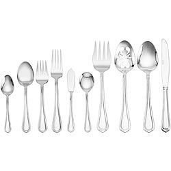 Service for 12 Flatware | Overstock.com: Buy Stainless Flatware ...