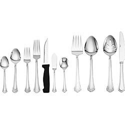 Pfaltzgraff Bliss 53-piece Flatware Set