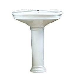 Pedestal Sink Cost : Pedestal Sinks - Overstock Shopping - The Best Prices Online