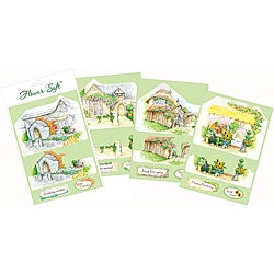 Everyday Country Village Flower Soft Card Toppers