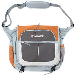 Wenger Swiss Gear Orange/Grey 15-inch Messenger Bag