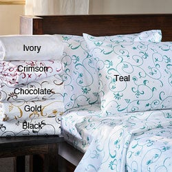 Bella 300 Thread Count Cotton Sheet Set