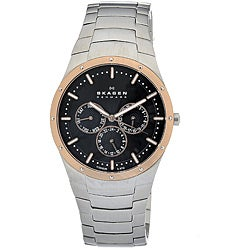Skagen Men's Rose-gold Titanium Watch